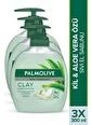 Palmolive Palmolive Spa Therapy Clay Purification Kil Ve Aloe Vera Özü 3'lü Sıvı El Sabunu 300 ml Renksiz